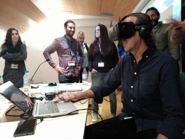 Realidad Virtual en Cuevas Rupestres: Cova del Barranc del Migdia