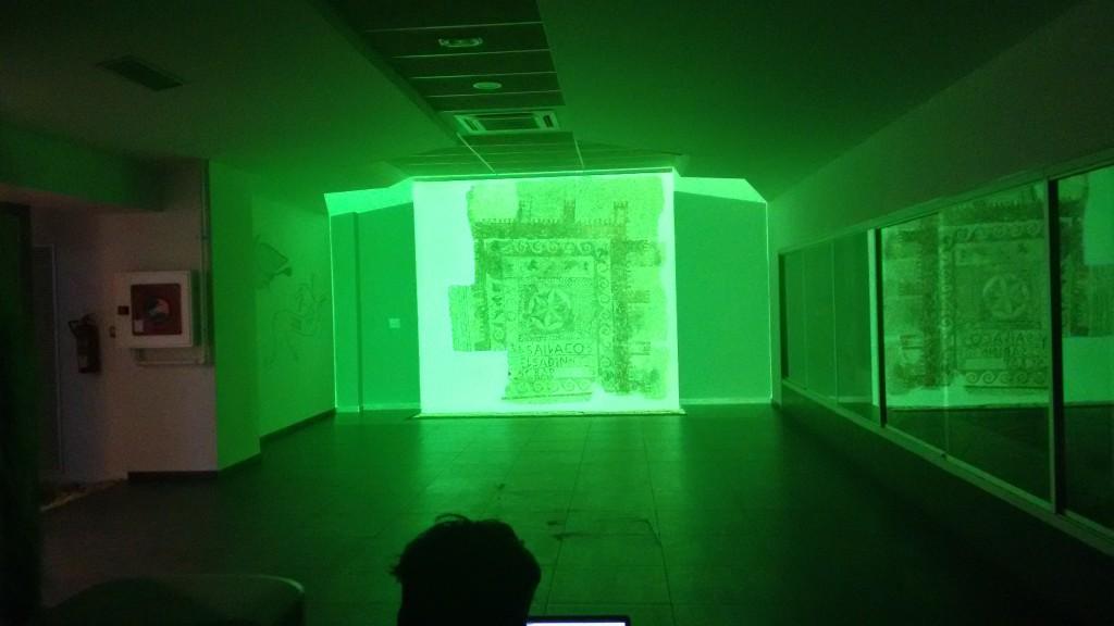 video mapping patrimonio mosaico sailacos