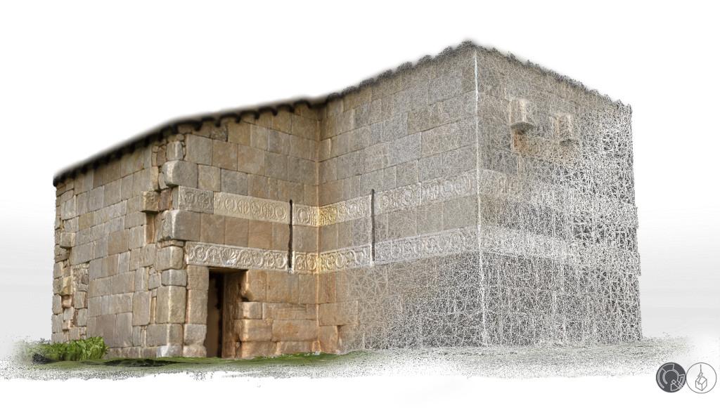 Reconstrucción virtual de iglesia visigoda en Burgos
