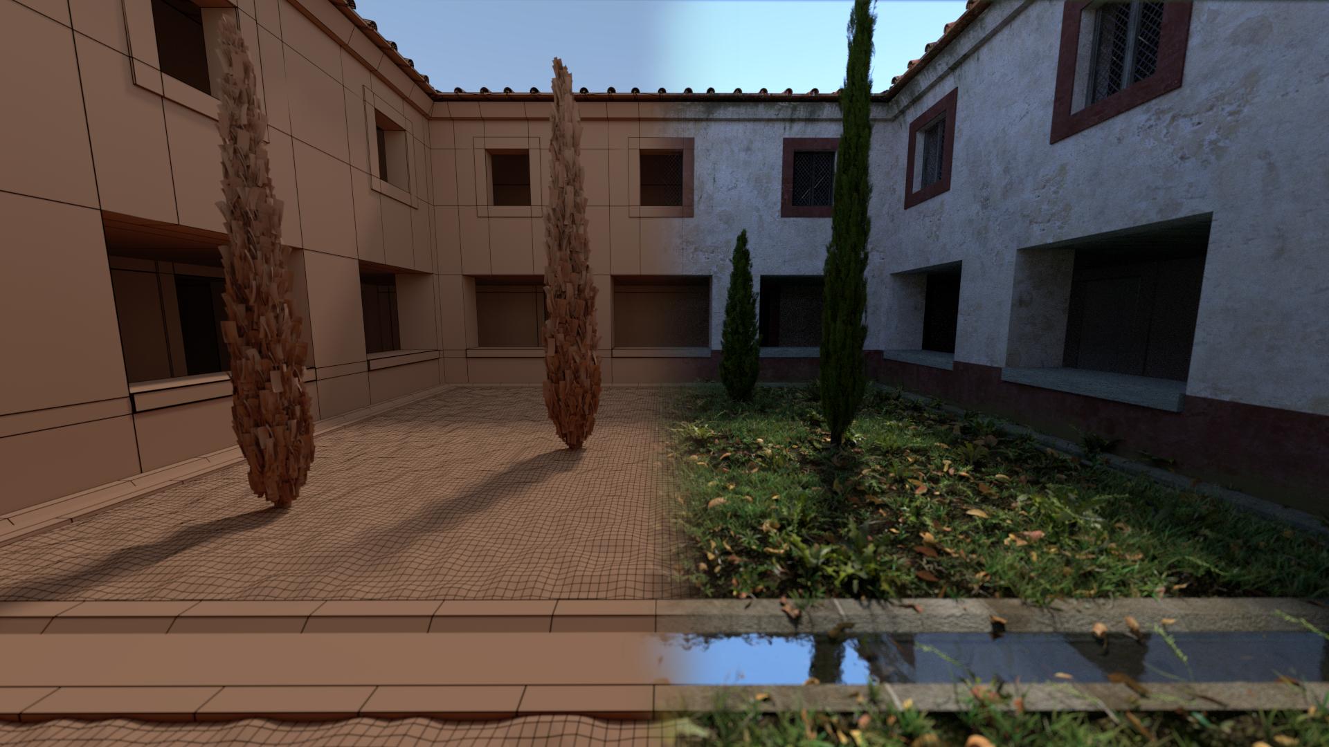 atrio renderizado