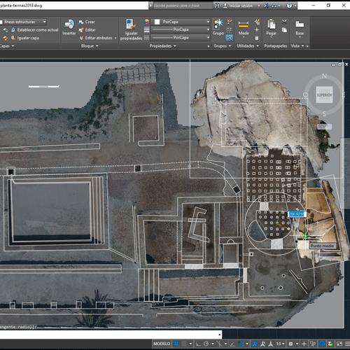 Levantamientos planimétricos y diseño CAD