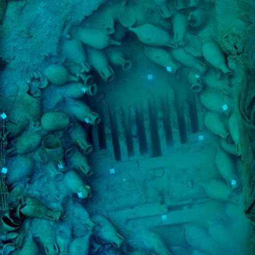 Fotogrametría Subacuática en el Pecio romano Bou-Ferrer