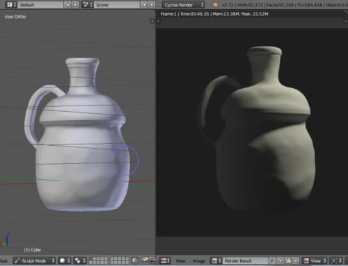 Creación de materiales con Blender: rugosidad realista (II)