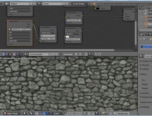 Creación de materiales con Blender: rugosidad realista