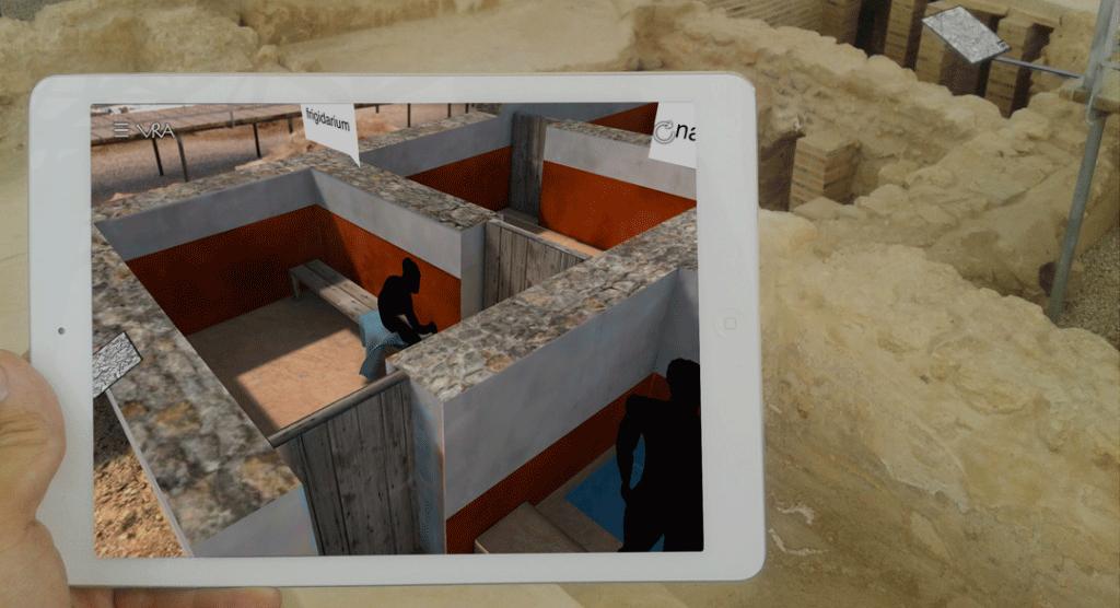 virtualización del patrimonio tablet