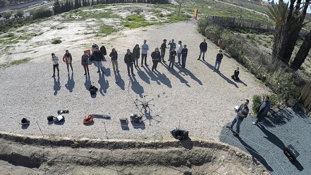fotogrametría drone