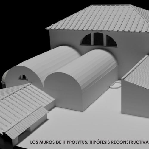 Virtualización de la casa de Hippolytus en Complutum
