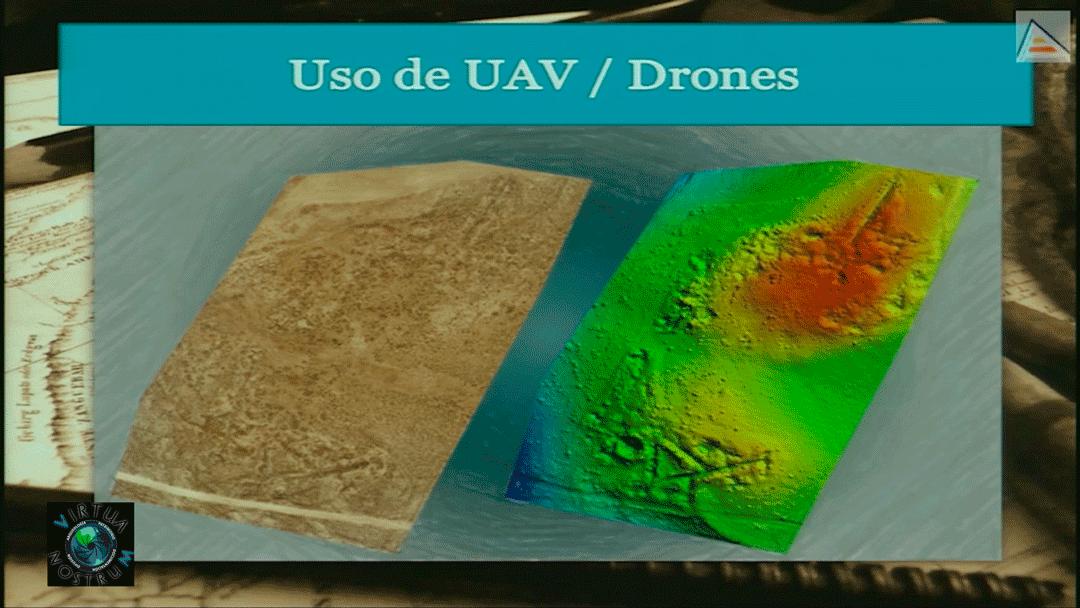 uso de drones Patrimonio Virtual