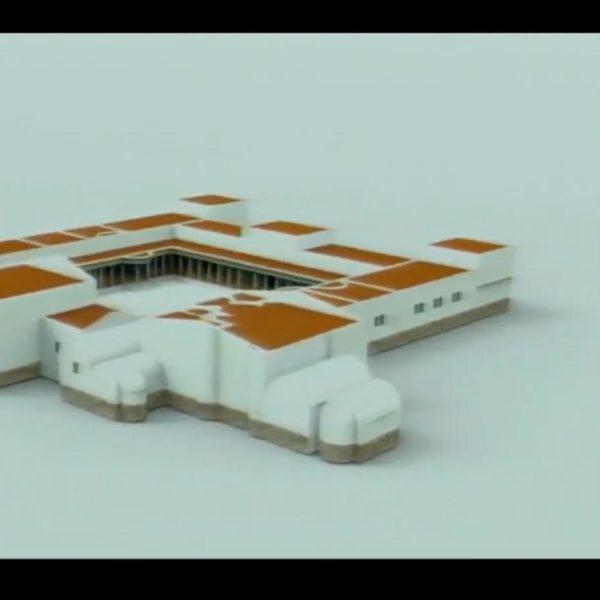 Virtualización de la Villa romana de El Saucedo por Noelia García Fernández