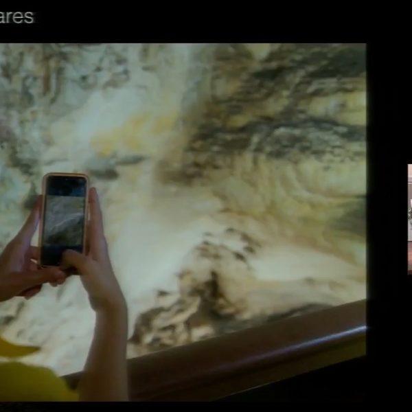 Reconstrucción virtual del arte rupestre en la Cueva de Nerja