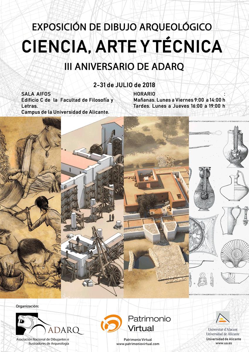 Dibujo arqueológico: Ciencia, Arte y Técnica de ADARQ
