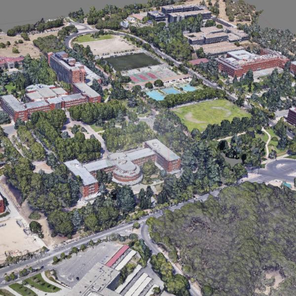 Reconstrucción de la Ciudad Universitaria de Madrid antes de la Guerra Civil