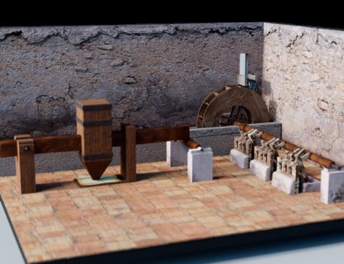Virtualización de un molino de papel