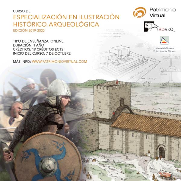 Nueva edición del Curso en Ilustración histórico-arqueológica