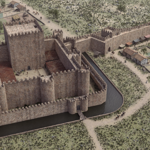 Virtualización del Alcázar y muralla de Plasencia