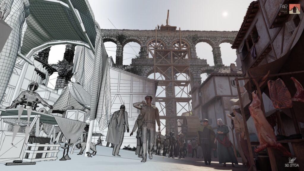 proyecto acueducto Segovia