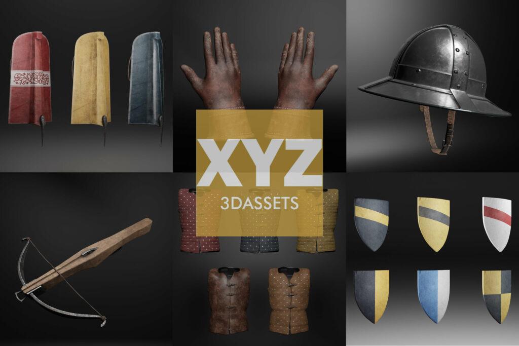 XYZ3Dassets